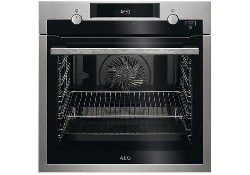 Электрический духовой шкаф AEG BEM455120M, фото 1