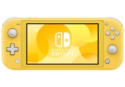 Игровая приставка Nintendo Switch Lite желтый, фото 2