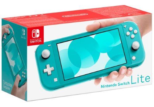 Игровая приставка Nintendo Switch Lite бирюзовый, фото 1