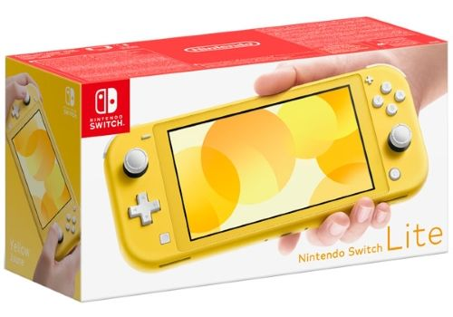 Игровая приставка Nintendo Switch Lite желтый, фото 1