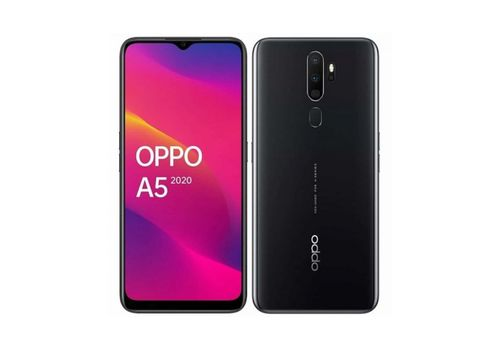 Смартфон Oppo A5 (2020) 3/64GB Черный глянец, фото 1